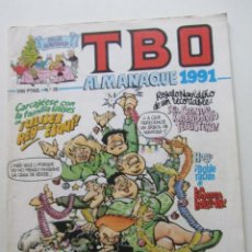 Cómics: TBO ALMANAQUE 1991 N.º 35 EDICIONES B MUCHOS EN VENTA MIRA TUS FALTAS E8X4. Lote 246050000