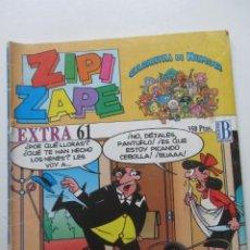 Cómics: ZIPI ZAPE - EXTRA 61 - CARNAVAL DE HUMOR EDICIONES B MUCHOS EN VENTA, MIRA TUS FALTAS E8X5. Lote 246108490