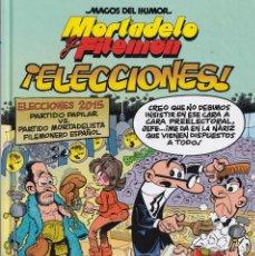 Cómics: ELECCIONES - MORTADELO Y FILEMÓN - MAGOS DEL HUMOR - Nº 179 - EDICIONES B 2015. Lote 246687300