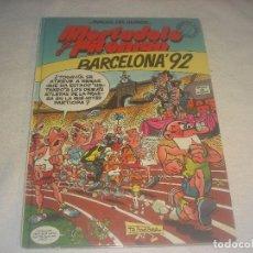 Cómics: MAGOS DEL HUMOR. MORTADELO Y FILEMON N. 41 , BARCELONA 92.. Lote 246786595