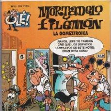 Cómics: LA GOMEZTROIKA - MORTADELO Y FILEMÓN - OLÉ ( RELIEVE ) - Nº 8 - EDICIONES B 1996. Lote 246903825