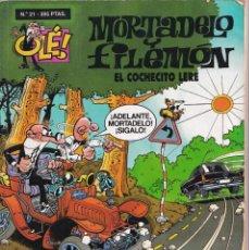 Cómics: COCHECITO LERE - MORTADELO Y FILEMÓN ( RELIEVE ) - OLÉ - Nº 21 - EDICIONES B 1998. Lote 246905200