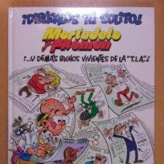 Fumetti: ¡DIBUJALOS TÚ SOLITO! MORTADELO Y FILEMÓN . ¡...Y DEMÁS BICHOS VIVIENTES DE LA T.I.A.! / 1ª ED. 2003. Lote 247106665