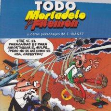 Cómics: TODO MORTADELO Y FILEMON Y OTROS PERSONAJES DE F. IBÁÑEZ Nº 13 EDITADO 2005. 1º EDICIÓN. Lote 247362335