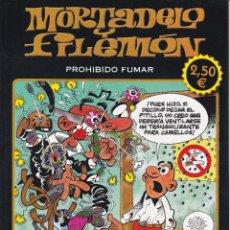 Cómics: MORTADELO Y FILEMON: PROHIBIDO FUMAR. EDITADO POR EDICIONES B EN 2012. 1º EDICIÓN. Lote 247672125
