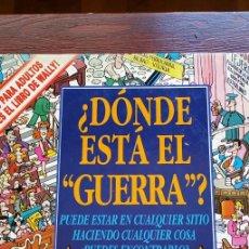 Cómics: ¿DÓNDE ESTÁ EL GUERRA .? . COMIX . JOAN MARCH.. Lote 247983900