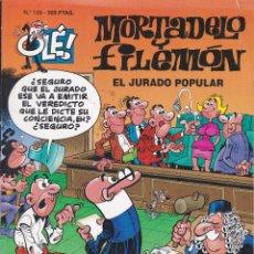 Cómics: MORTADELO Y FILEMO: EL JURADO POPULAR EDITADO POR EDICIONES B EN 1997. PRIMERA EDICION. Lote 247984300