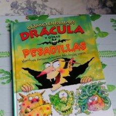 Cómics: COMO DIBUJAR DRACULA Y OTRAS PESADILLAS.FRANK RODGERS.EDICIONES B. Lote 248249985