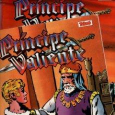 Cómics: PRINCIPE VALIENTE. EDICION HISTORICA. EDICIONES B. LOTE DE 58 TEBEOS (1-60) VER DESCRIPCION. Lote 248264465