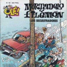 Cómics: MORTADELO Y FILEMO: LOS SECUESTRADORES. EDICIONES B 1997.. Lote 248693655