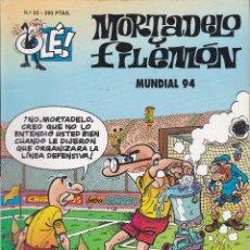 Cómics: MORTADELO Y FILEMO: MUNDIAL 94. EDICIONES B 1995.. Lote 248699685