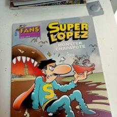 Cómics: X SUPER LOPEZ FANS 42 MONSTER CHAPAPOTE (EDICIONES B). Lote 248961790
