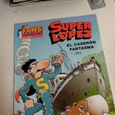 Cómics: X SUPER LOPEZ FANS 38 EL CASERON FANTASMA (EDICIONES B). Lote 248962920