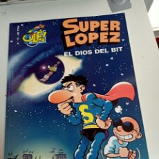 Comics : X SUPER LOPEZ OLE 37 EL DIOS DEL BIT (EDICIONES B). Lote 248963395