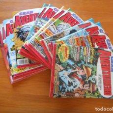 Fumetti: GRAN AVENTURERO COMPLETA - 12 NUMEROS - EDICIONES B - LEER DESCRIPCION (T). Lote 248994640
