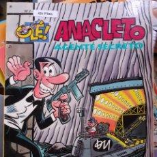 Cómics: ANACLETO AGENTE SECRETO - OLE 2- PORTADA RELIEVE 1993. Lote 249034715