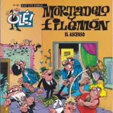 Cómics: MORTADELO Y FILEMO: EL ASCENSO. EDICIONES B 2000.. Lote 249111060