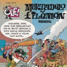 Cómics: MORTADELO Y FILEMO: TERRORISTAS. EDICIONES B 2004.. Lote 249113480