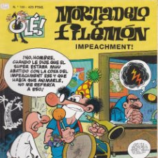 Cómics: MORTADELO Y FILEMO: IMPEACHMENT¡. EDICIONES B 1999.PRIMERA EDICIÓN. Lote 249114535