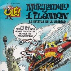 Cómics: MORTADELO Y FILEMO: LA ESTATUA DE LA LIBERTAD. EDICIONES B 1999.. Lote 249204425