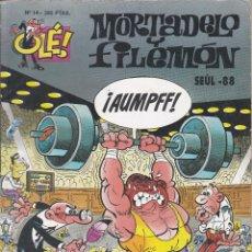 Cómics: MORTADELO Y FILEMO: SEÚL-88. EDICIONES B 1996.. Lote 249208065