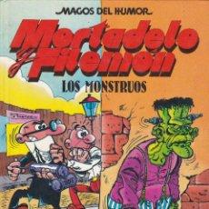 Cómics: MORTADELO Y FILEMO: LOS MONSTRUOS. EDICIONES B. COLECCION MAGOS DEL HUMOR. Lote 249209245