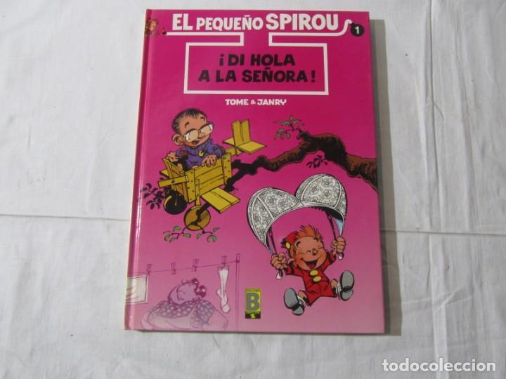 Cómics: 3 números (1 + 2 +3) de El pequeño Spirou, Ediciones B 1990-1992-1993, tapa dura - Foto 3 - 249237880