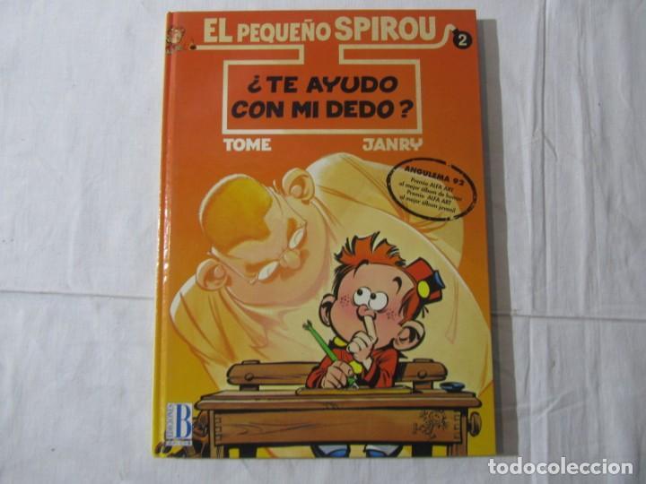 Cómics: 3 números (1 + 2 +3) de El pequeño Spirou, Ediciones B 1990-1992-1993, tapa dura - Foto 6 - 249237880