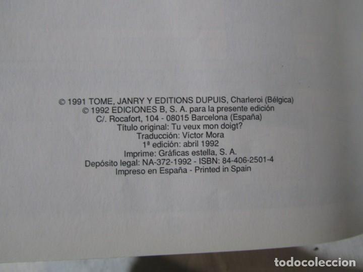 Cómics: 3 números (1 + 2 +3) de El pequeño Spirou, Ediciones B 1990-1992-1993, tapa dura - Foto 8 - 249237880