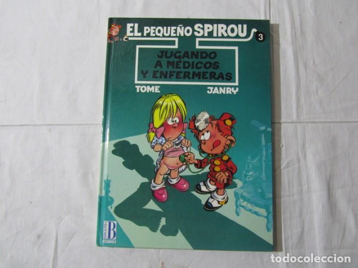 Cómics: 3 números (1 + 2 +3) de El pequeño Spirou, Ediciones B 1990-1992-1993, tapa dura - Foto 9 - 249237880