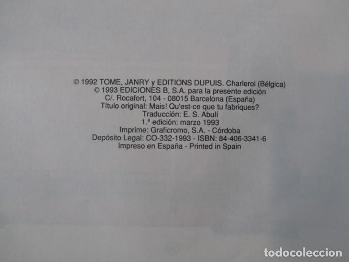Cómics: 3 números (1 + 2 +3) de El pequeño Spirou, Ediciones B 1990-1992-1993, tapa dura - Foto 11 - 249237880