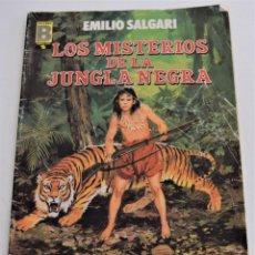 Cómics: LOS MISTERIOS DE LA JUNGLA NEGRA - EMILIO SALGARI - GRANDES AVENTURAS Nº 5 - EDICIONES B. Lote 249370200