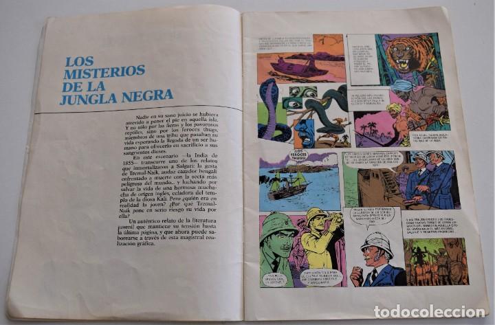 Cómics: LOS MISTERIOS DE LA JUNGLA NEGRA - EMILIO SALGARI - GRANDES AVENTURAS Nº 5 - EDICIONES B - Foto 3 - 249370200