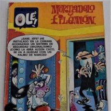 Cómics: MORTADELO Y FILEMÓN - COLECCIÓN OLÉ Nº 179 - M. 146 - EDICIONES B AÑO 1989 - 1ª EDICIÓN. Lote 249373340