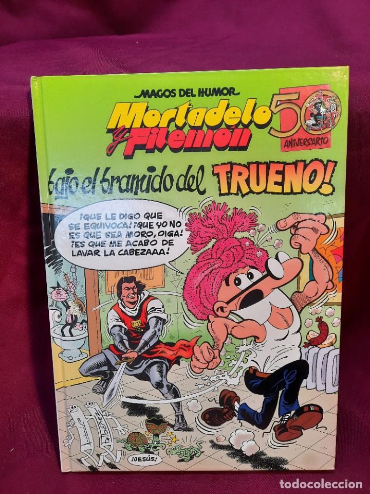 """Cómics: LOTE 6 COMICS MORTADELO Y FILEMON """" MAGOS DEL HUMOR """" TAPA DURA 50 ANIVERSARIO - Foto 2 - 251194245"""