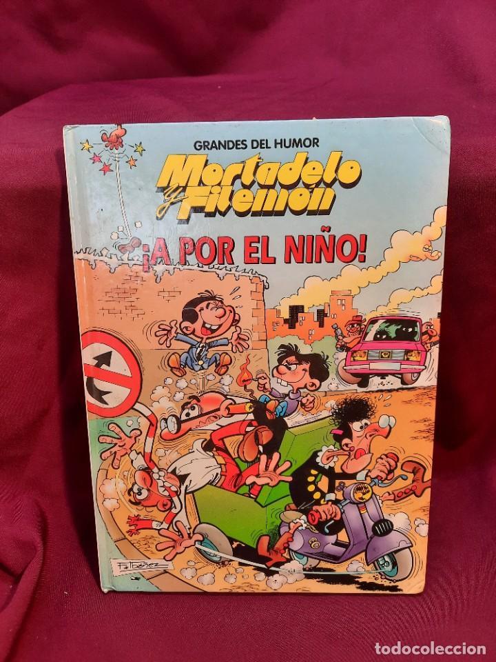 """Cómics: LOTE 6 COMICS MORTADELO Y FILEMON """" MAGOS DEL HUMOR """" TAPA DURA 50 ANIVERSARIO - Foto 4 - 251194245"""