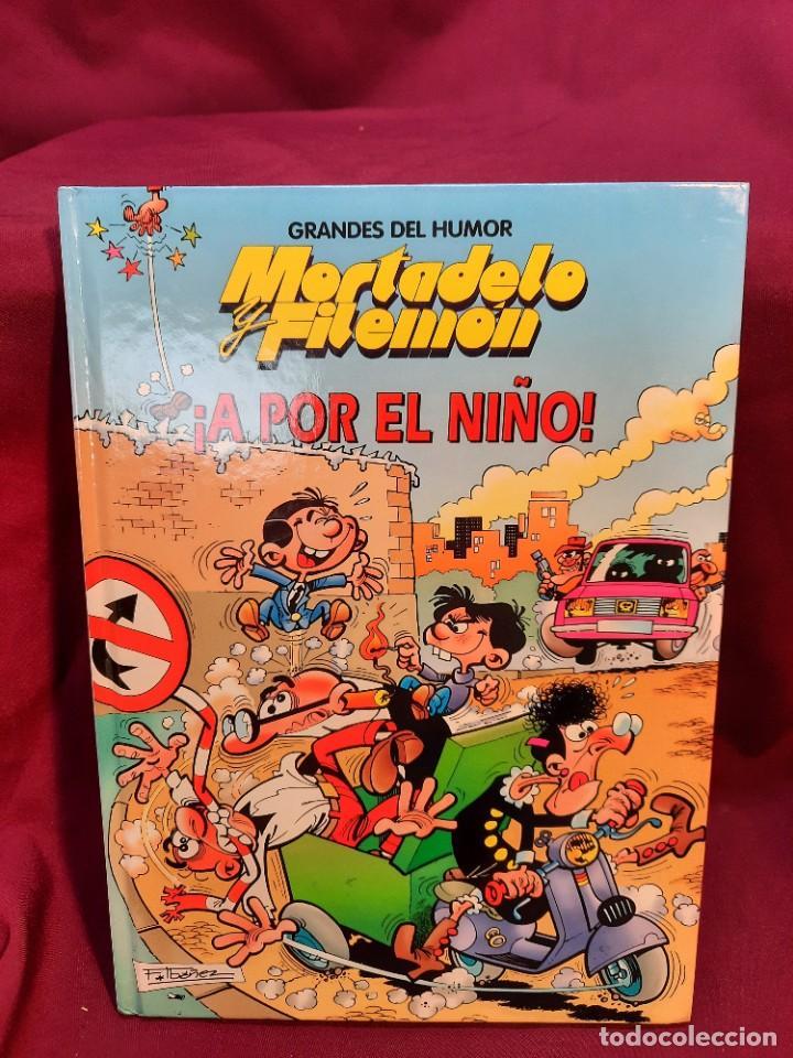 """Cómics: LOTE 6 COMICS MORTADELO Y FILEMON """" MAGOS DEL HUMOR """" TAPA DURA 50 ANIVERSARIO - Foto 6 - 251194245"""