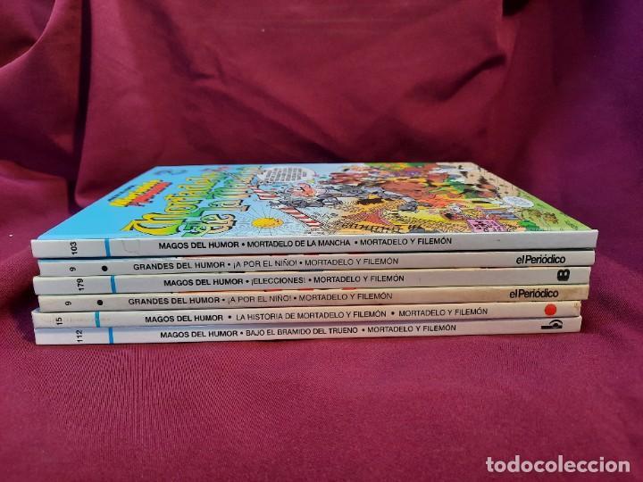 """Cómics: LOTE 6 COMICS MORTADELO Y FILEMON """" MAGOS DEL HUMOR """" TAPA DURA 50 ANIVERSARIO - Foto 8 - 251194245"""