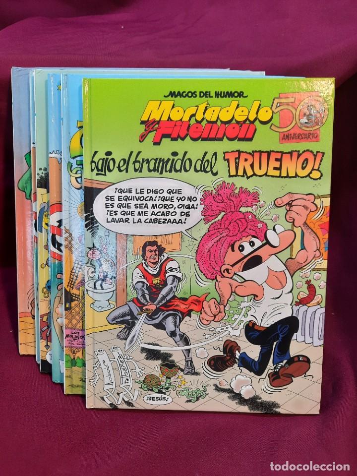 """Cómics: LOTE 6 COMICS MORTADELO Y FILEMON """" MAGOS DEL HUMOR """" TAPA DURA 50 ANIVERSARIO - Foto 11 - 251194245"""