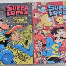Cómics: COLECCIÓN OLÉ SUPERLÓPEZ Nº 12 Y 15 - EDICIONES B AÑOS 1988 Y 1989 - 1ª EDICIÓN. Lote 251199670