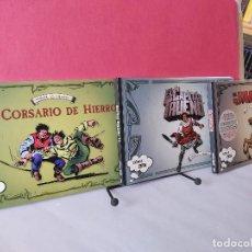 Comics: * COMIC ZETA Nº 107, 108, 109 * EL CAPITÁN TRUENO, EL JABATO, EL CORSARIO * EDICIONES B 2009 1ª E. Lote 251680695