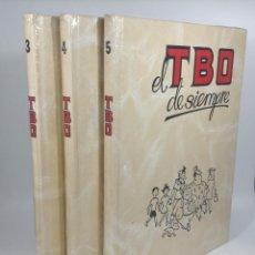 Cómics: COLECCIÓN EL TBO DE SIEMPRE 3 TOMOS Nº 3, 4 Y 5 - 1995-1998 ***EDICIONES B *** NUEVOS A ESTRENAR. Lote 251793215