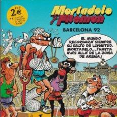 Cómics: BARCELONA 92 - MORTADELO Y FILEMÓN - EDICIONES B. Lote 252108450