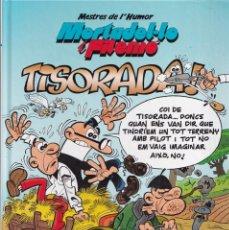 Cómics: MORTADEL·LO I FILEMÓ - TISORADA - MESTRES DE L'HUMOR 37 - EDICIONES B 2014. Lote 252124665