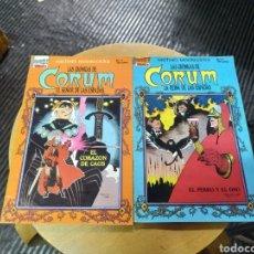 Cómics: LAS CRÓNICAS DE CORUM LOTE DE 2N° 4-5 (TEBEOS SA). Lote 252146945