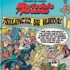 Cómics: SILENCIO, SE RUEDA - MORTADELO Y FILEMÓN - GRANDES DEL HUMOR 18 - EDICIONES B 1996. Lote 252759845
