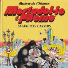 Cómics: SAFARI CARRERS - MORTADEL·LO I FILEMÓ - MESTRES DE L' HUMOR 26 - EDICIONES B 1990 MORTADELO CATALÁN. Lote 252762000