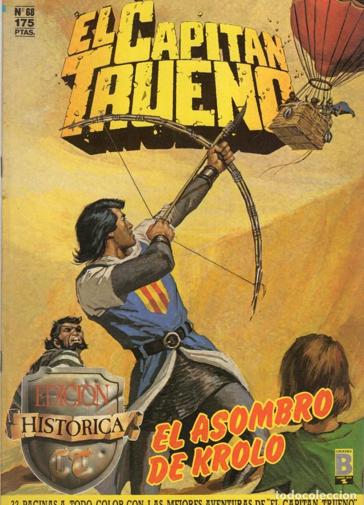 EL CAPITAN TRUENO Nº 68 (EDICION HISTORICA) EDICIONES B - MUY BUEN ESTADO (Tebeos y Comics - Ediciones B - Clásicos Españoles)