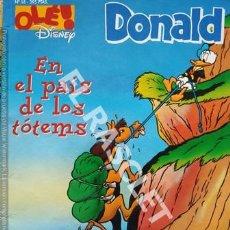 Cómics: DONALD - OLÉ! DISNEY - EN EL PAIS DE LOS TÓTEMS - Nº 18. Lote 252989705