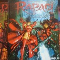 Cómics: RAPACI - ( RAPACES ) DUFAUX-MARINI - ED. LIZARD - PRIMEROS TRES TOMOS - TEXTO EN ITALIANO. Lote 253015540